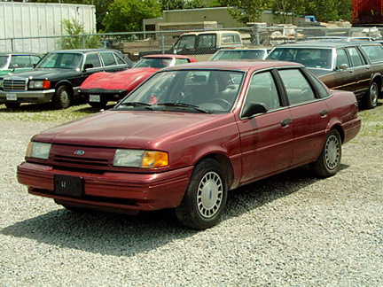 Then owned this peace of crap a 91 Ford Tempo GL Then a 2003 Neon SXT.