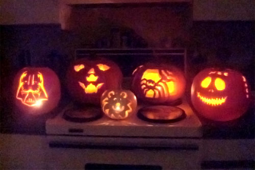 Pumpkin Carvings by beyond member, barmanjay