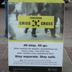 Pedestrian Criss-Crossings Piloted in Calgary