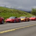 Trooper Interupts Exotic Sports Car Cruise