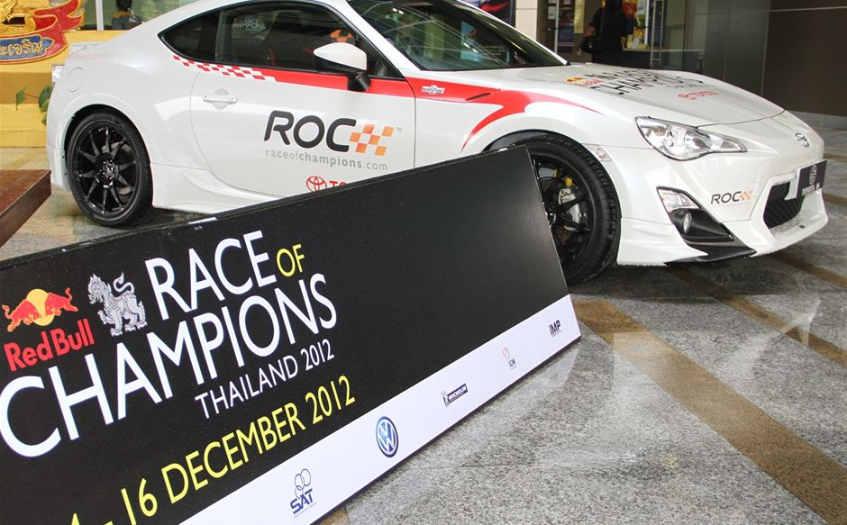 2012 Race of Champions Thailand Starts Tomorrow