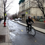 Separated Cycle Lanes Coming to Calgary in 2013