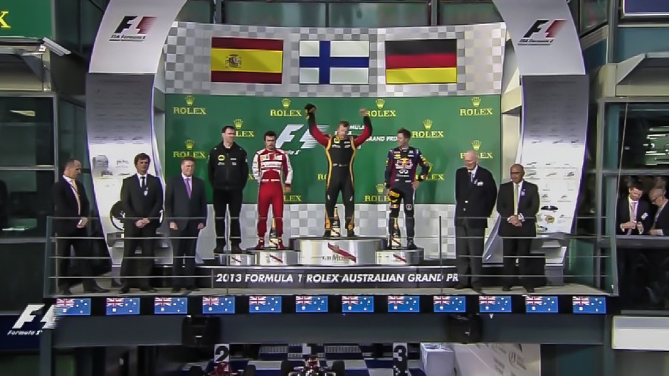 Formula 1: Kimi Raikkonen wins the Australian Grand Prix