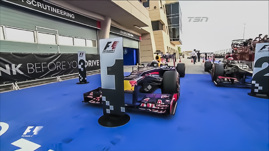 Formula 1: Vettel Takes Bahrain Again
