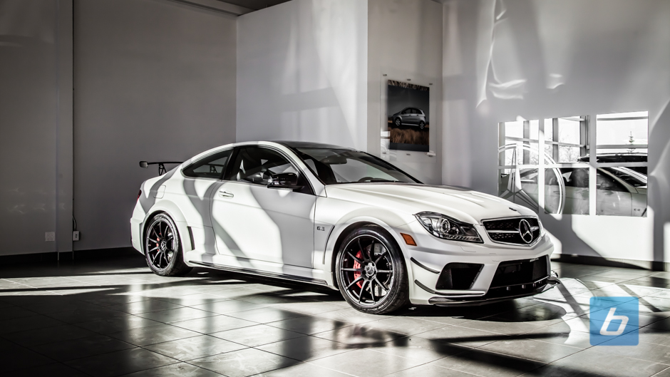 First Look: 2013 C63 Black Series Canadian Edition
