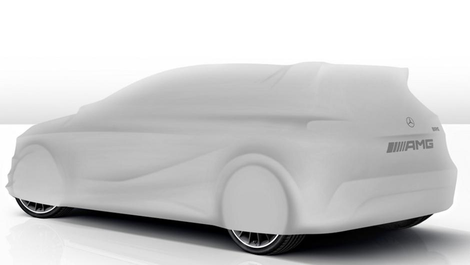 Mercedes-AMG To Unveil A45 AMG Tomorrow