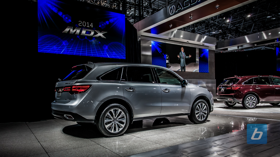 2014 Acura MDX Unveiled Today In New York