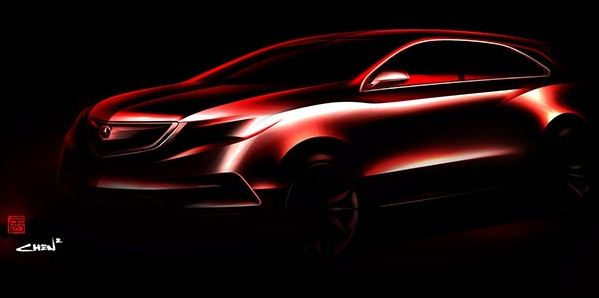 Acura Will Debut the 2014 MDX Prototype in Detroit