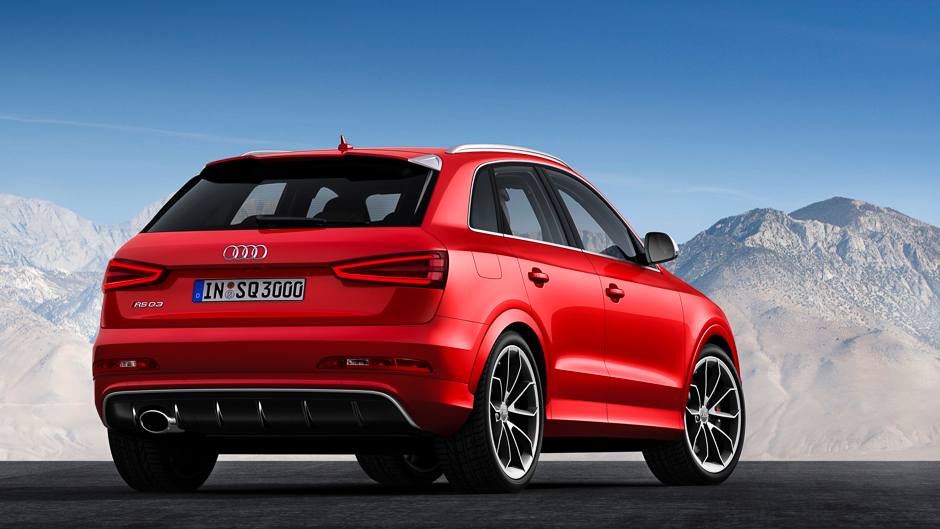 audi announces first rs model q series the rs q3. Black Bedroom Furniture Sets. Home Design Ideas