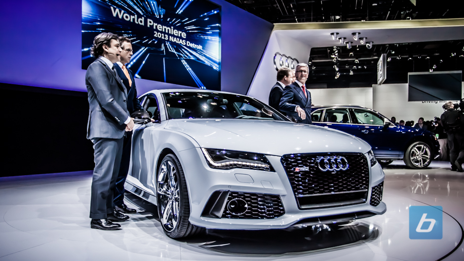 Audi Officially Unveils SQ5 and RS7