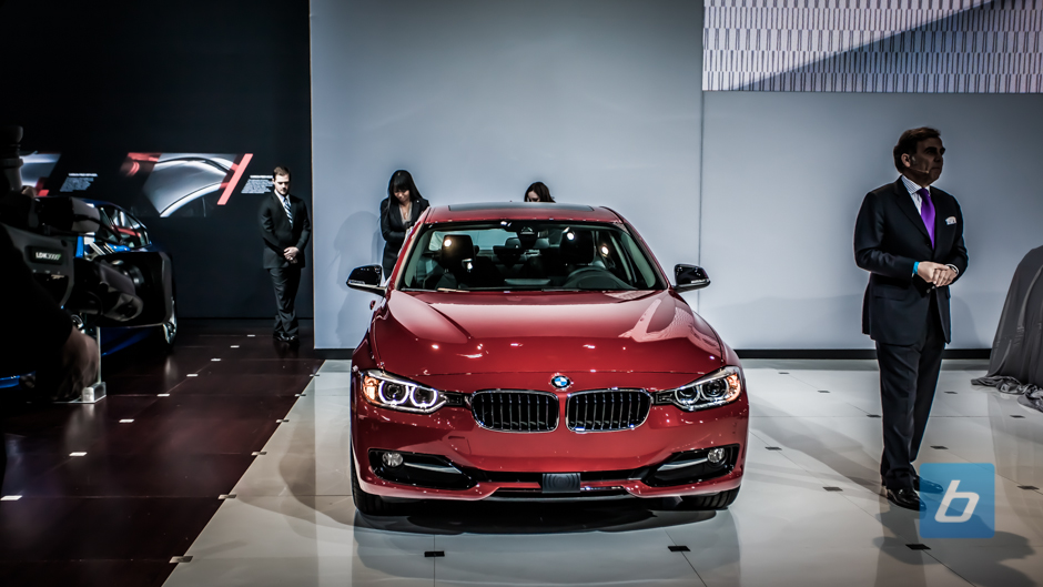 New York: BMW debuts the 2014 328d Sedan