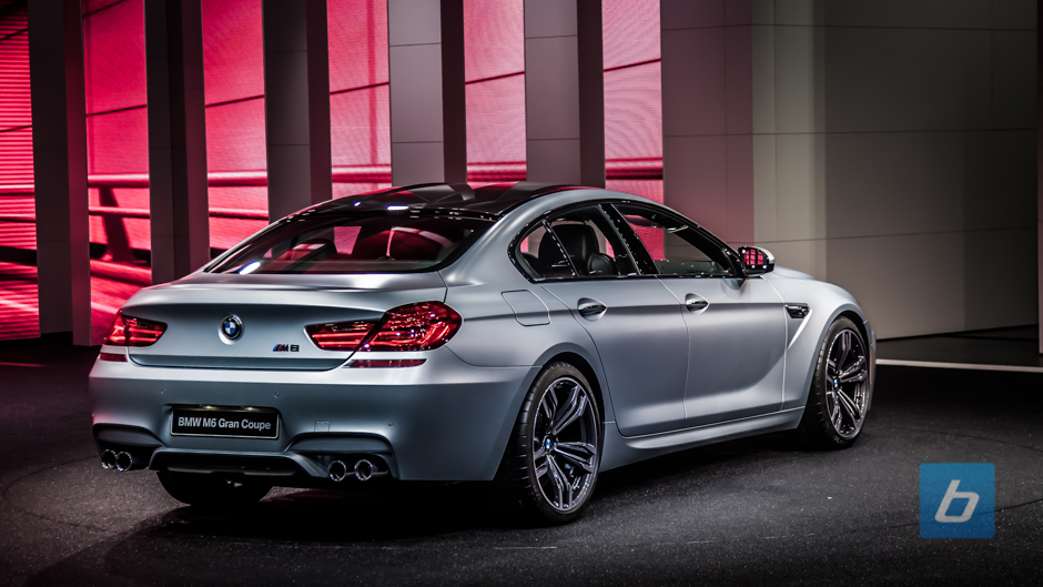 Bmw M6 Gran Coupe Revised Z4 At Naias