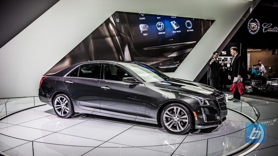 New York: 2014 CTS-V Revealed