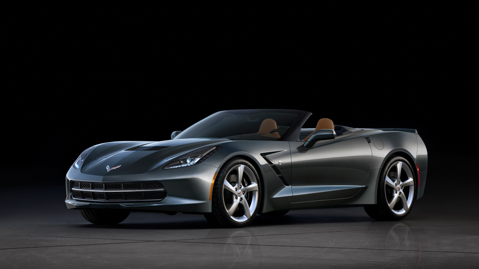 2014 Corvette Convertible Making First Stop In America
