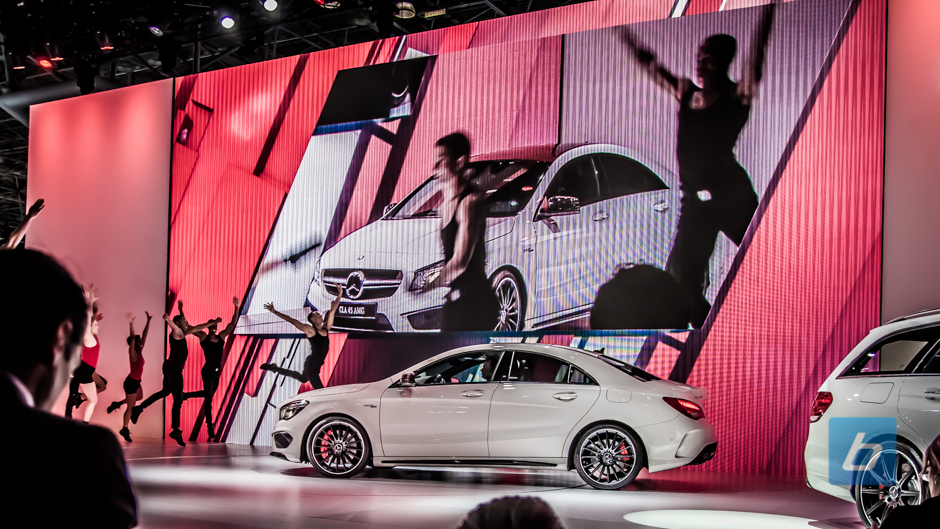 Back to Post - New York: Mercedes-Benz AMG unveils the CLA45 AMG