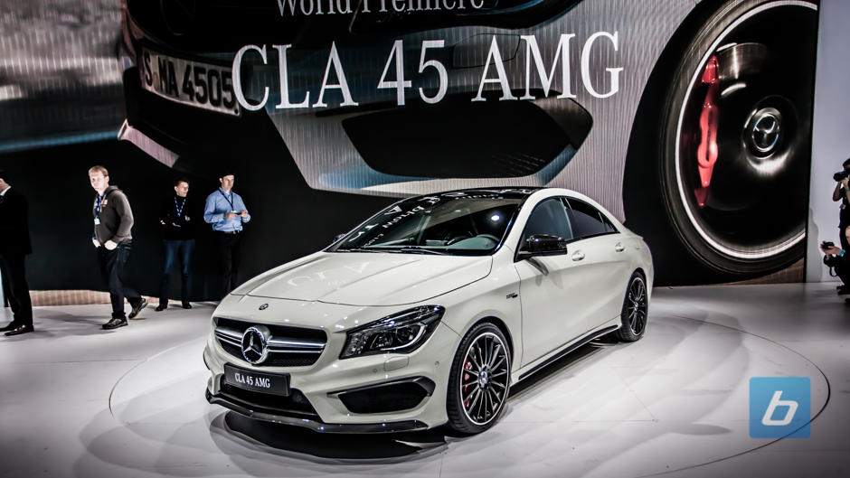 New York: Mercedes-Benz AMG unveils the CLA45 AMG
