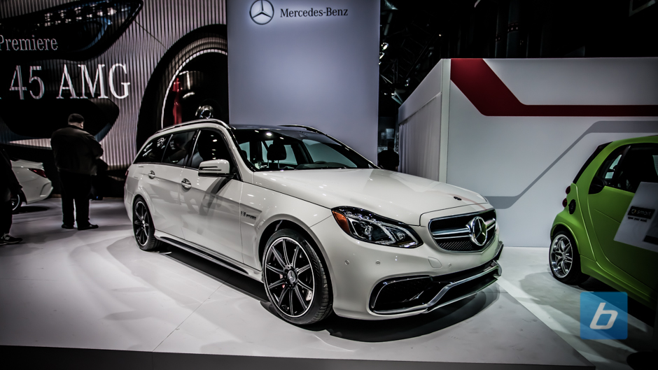 New York: Mercedes-Benz E63 AMG Wagon