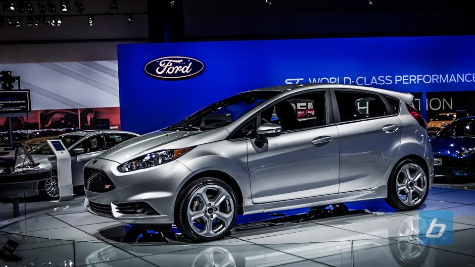 Ford Fiesta St  Blue