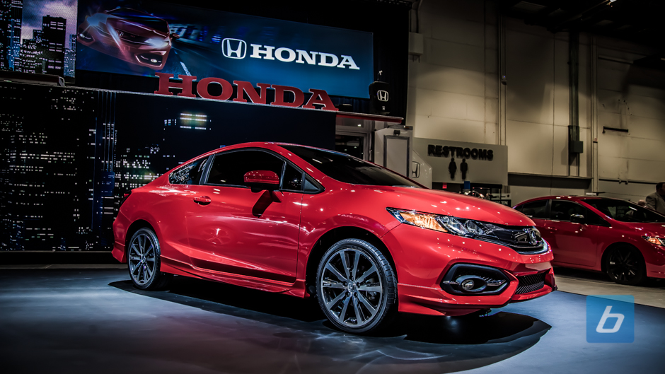 Honda Unveils 2014 Honda Civic Coupe at SEMA