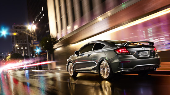 Honda to Unveil 2014 Honda Civic Si Coupe at SEMA