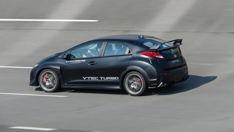 2015 Honda Civic Type R Almost Ready for Production