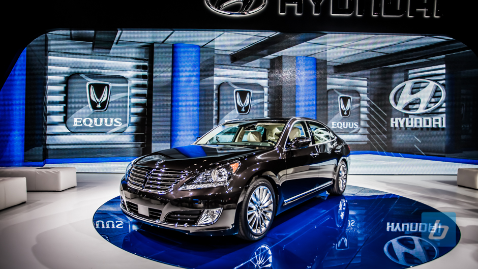 Hyundai Not Horsing Around, Refreshes the Equus for 2014