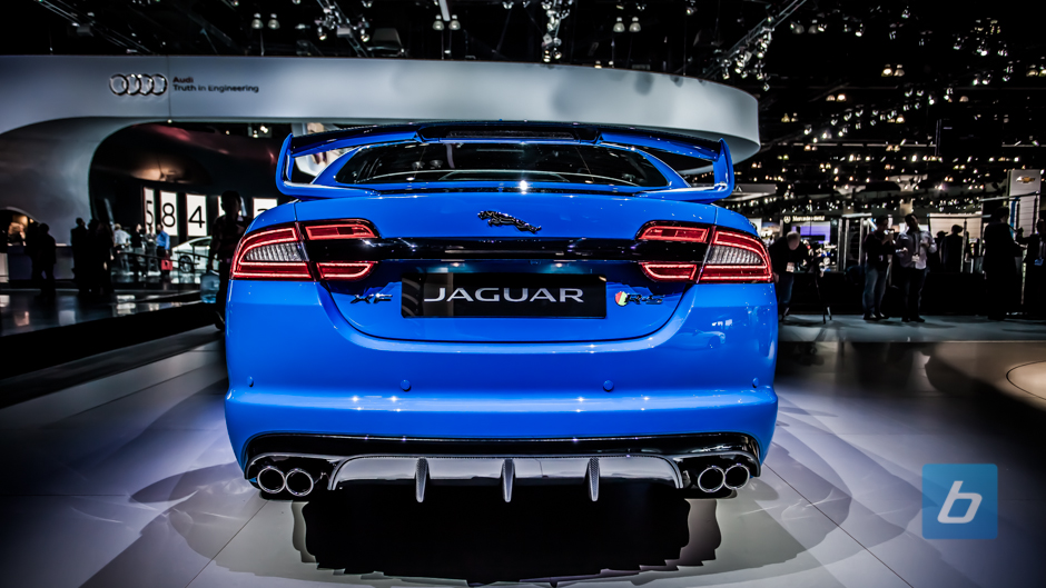 Jaguar Unveils The XFR S At LA Auto Show » Image 4 Of 6