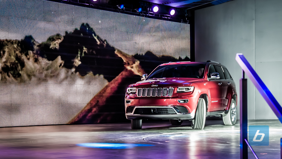 The new Grand Cherokee and SRT8 will go on sale this fall.