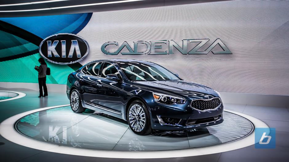 Kia Unveils Its Full-Sized 2014 Cadenza Sedan