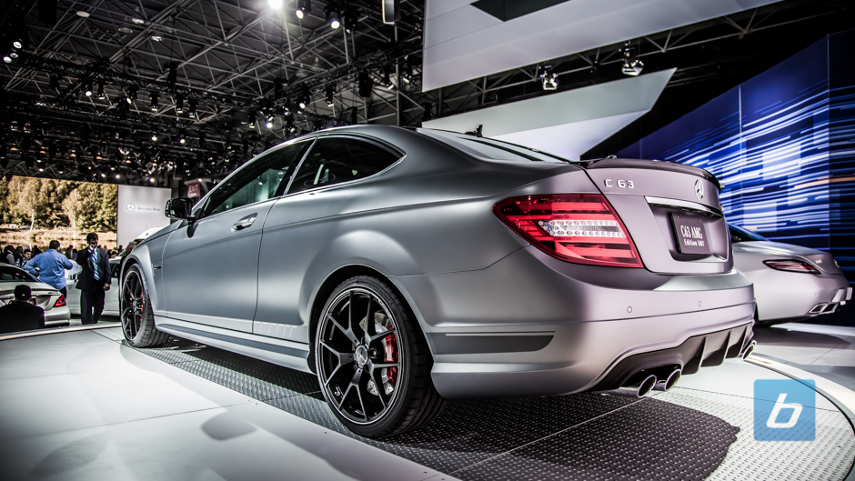 2014 mercedes benz c63 amg edition 507 ny autoshow 5. Black Bedroom Furniture Sets. Home Design Ideas