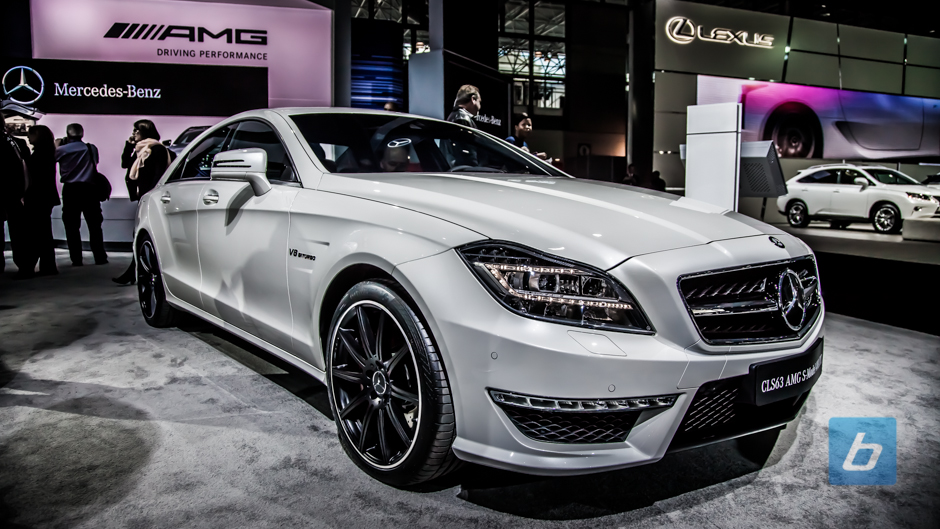 New York: Mercedes-Benz CLS63 AMG S-Model