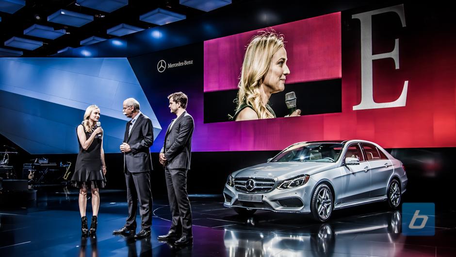 Mercedes-Benz unveils 2014 E Class Facelift