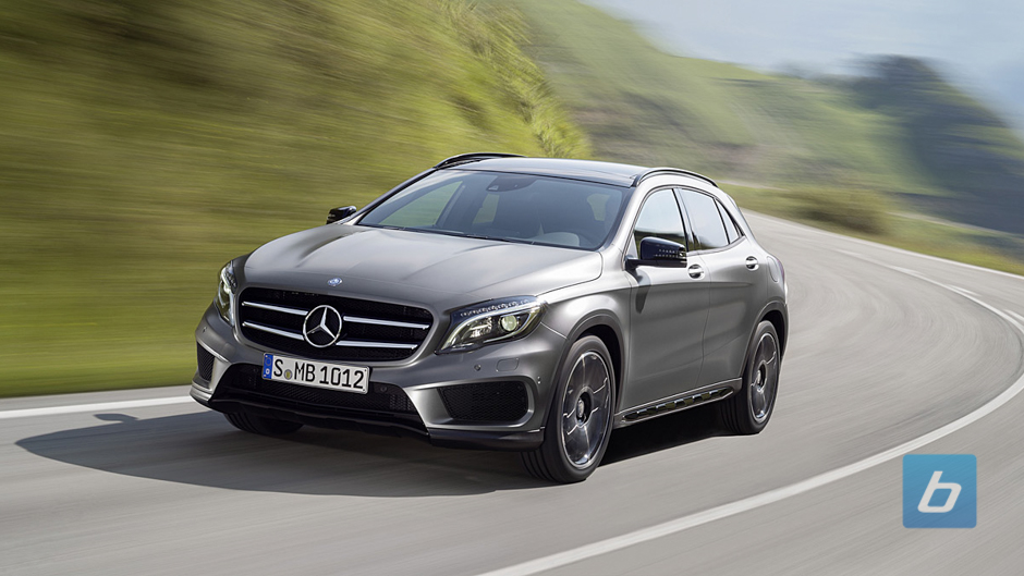 Mercedes-Benz to Unveil GLA Class in Frankfurt