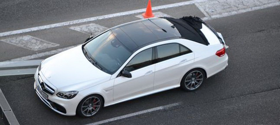 2014 Mercedes-Benz E63 AMG 4Matic. Your move Audi.