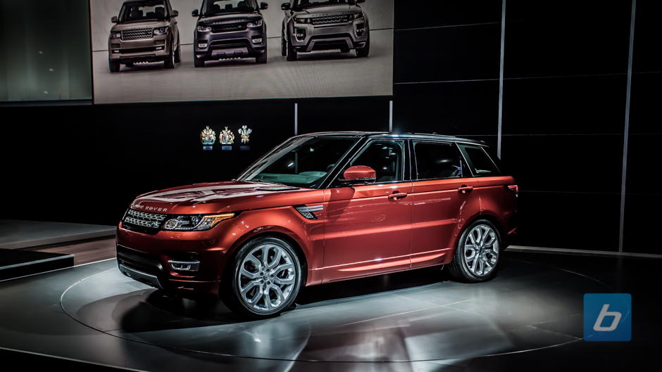New Range Rover Sport Debuts in New York