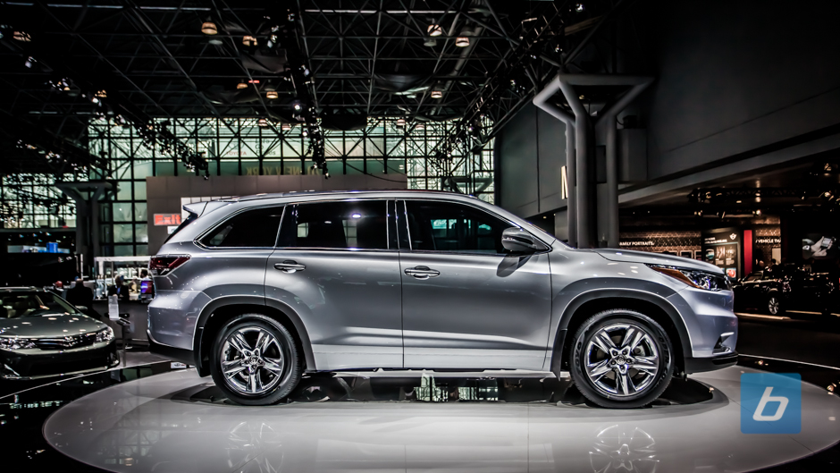 Toyota Unveils All-New 2014 Toyota Highlander