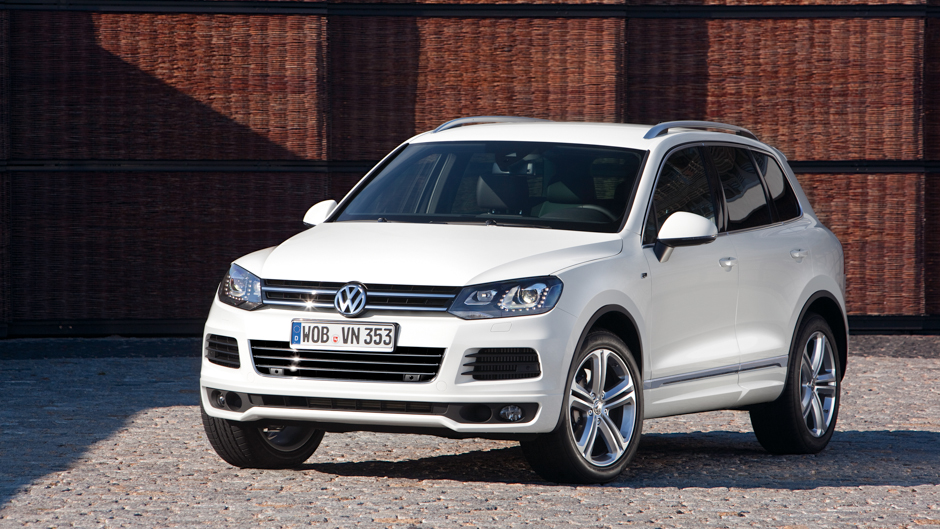 Volkswagen Adds R-Line Trim to Touareg and Tiguan