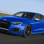 Audi Shows Off A3 Clubsport Quattro Concept at Wörthersee
