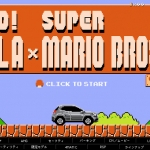 Mercedes GLA Meets Super Mario Bros.