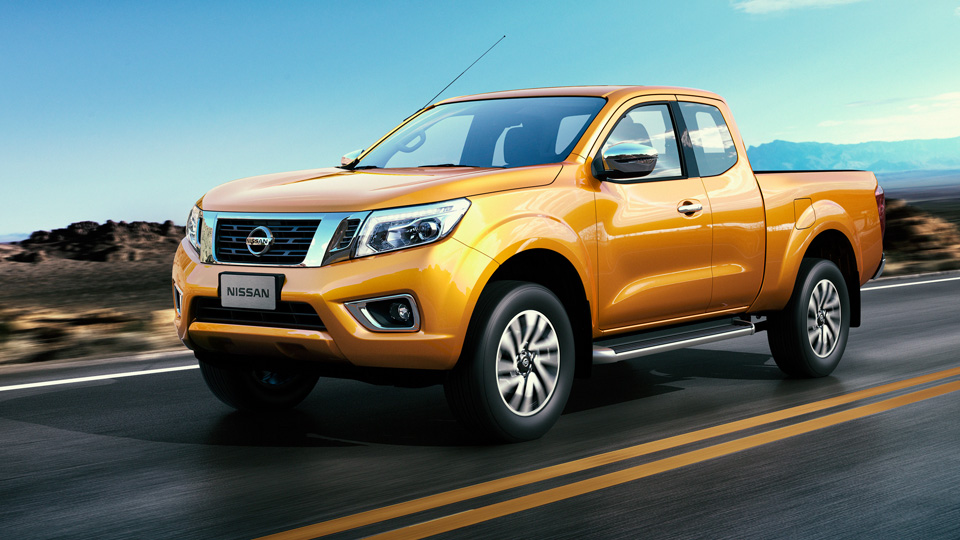 Nissan Unveils New NP300 Frontier Pickup