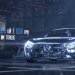 Engine details for the new Mercedes AMG GT