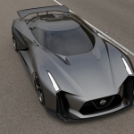 NISSAN CONCEPT 2020 Vision GT Hints at GT-R Design