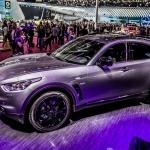 Infiniti QX70 S Design, Paris Motor Show