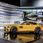 2015 Mercedes AMG GT.  2014 Paris Motor show