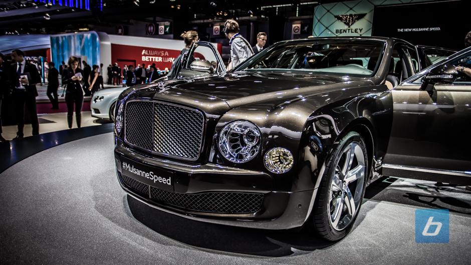 2015 Bentley Mulsanne Speed Paris 1