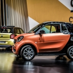 2015 Smart fortwo and forfour, Paris Motor Show