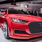 Audi TT Sportback concept.  Paris Motor Show
