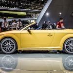 2015 Audi TT and TTS Roadster, 2014 Paris Motor Show