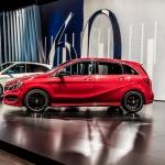 2015 Mercedes-Benz B Class Facelift. 2014 Paris Motor show