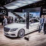 2015 Mercedes-Benz S500 Plug-in Hybrid, Paris Motor Show